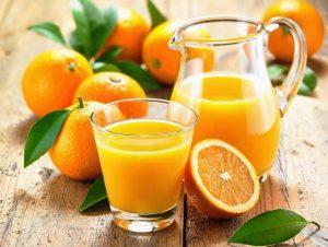 Сок с апельсина