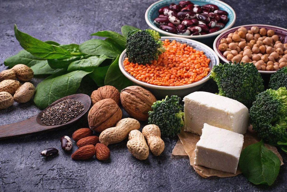 орехи и бобы
