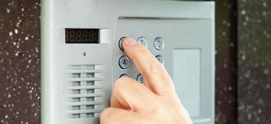 Открытие домофона без ключа