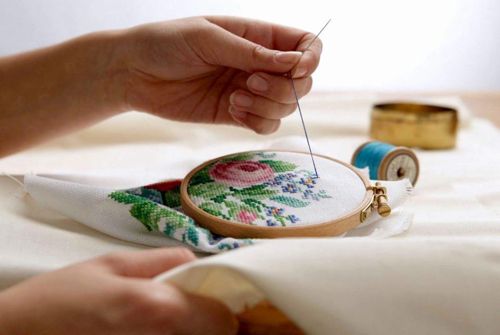 кропотливая работа вышивка крестиком