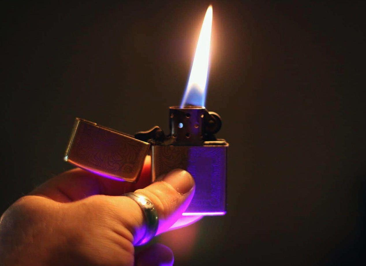 Заправка зажигалки zippo