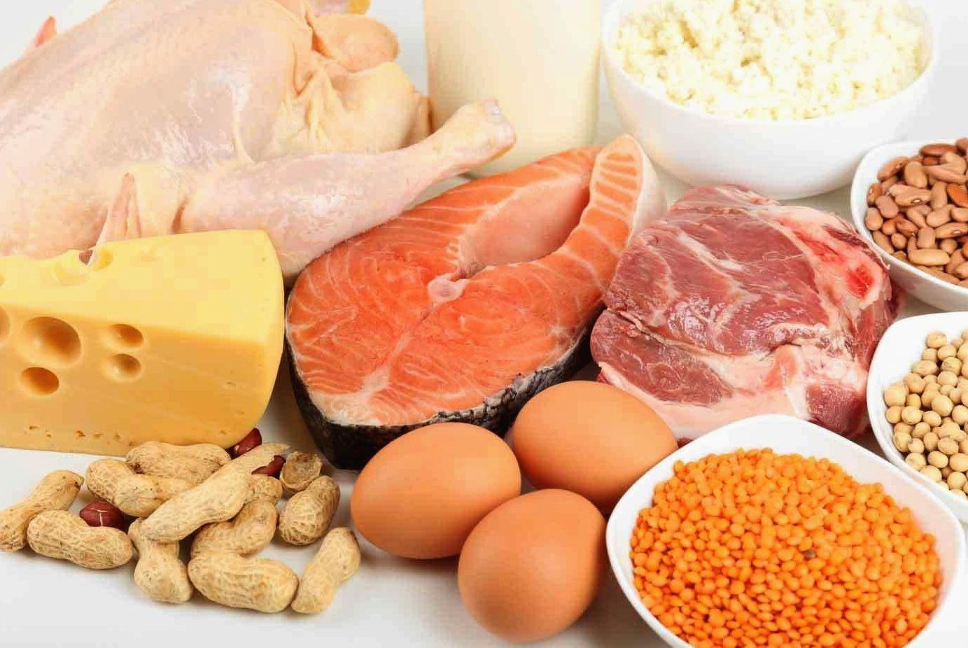 бобовые и мясо