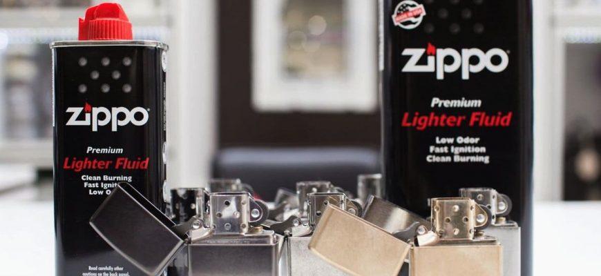 Правила заправки zippo