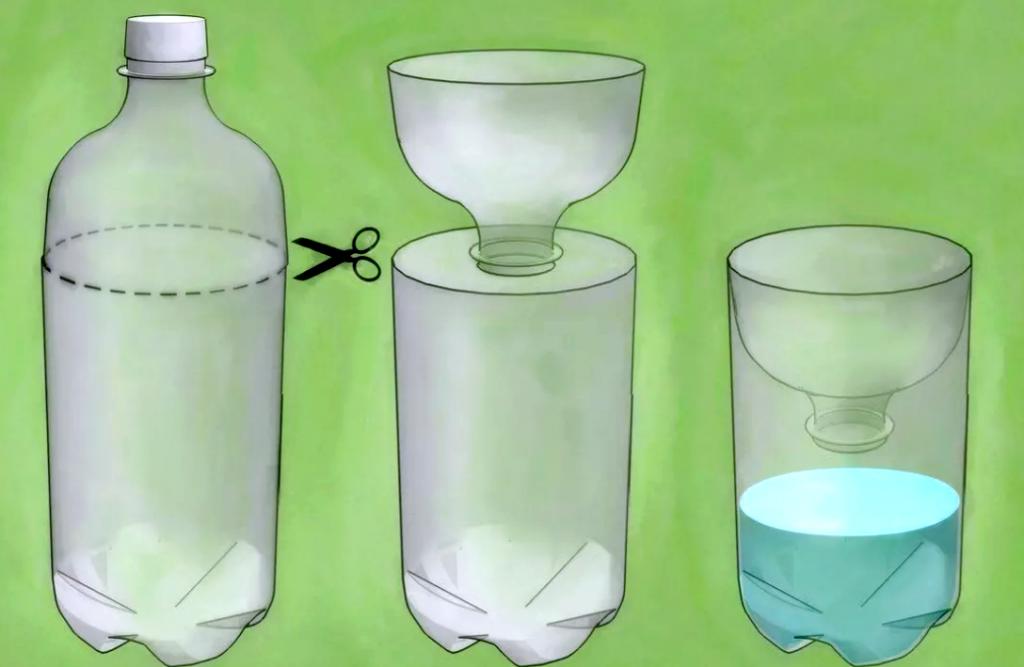 Как избавиться от мух и их личинок самодельной ловушкой