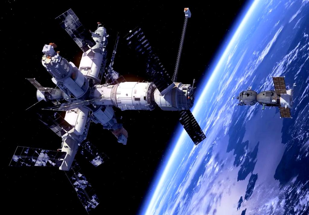 Как моются и ходят в туалет космонавты в космосе