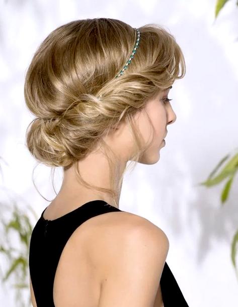 Как завить волосы без плойки «Греческая прическа»