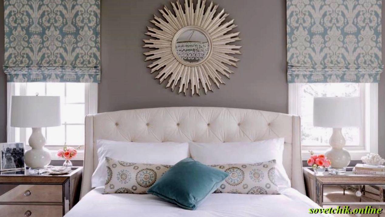 Что можно повесить над кроватью в спальне