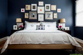 Что можно повесить над кроватью в спальне 42