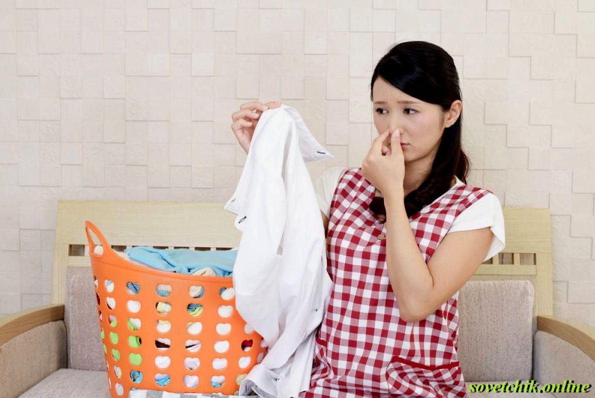 Как избавиться от запаха сырости на одежде