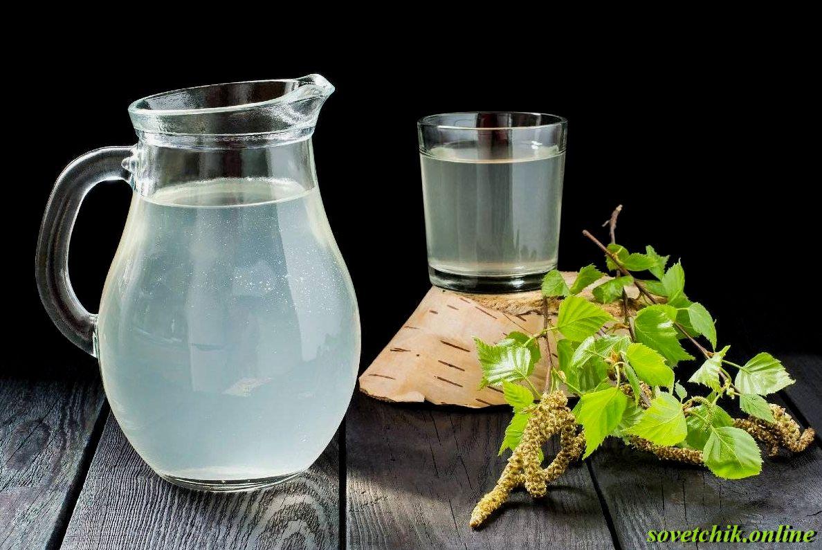 Как нужно хранить свежий березовый сок
