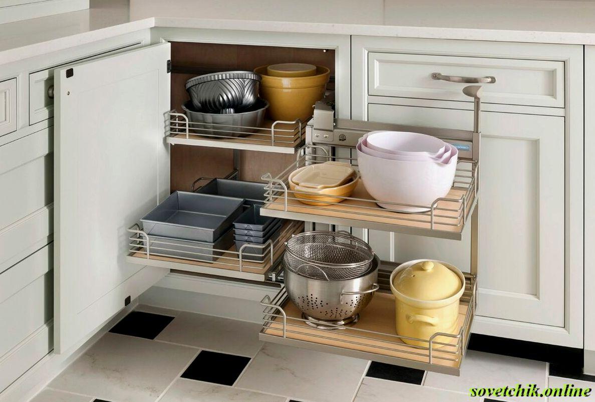 Как правильно заполнить шкафы на кухне