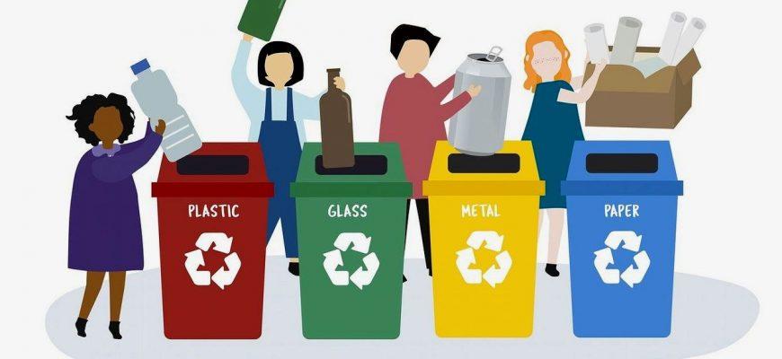 С чего начать сортировку мусора